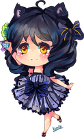 Chibi Gift for AmeiHime by KyouKaraa