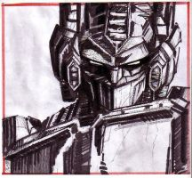 Optimus Prime by polidread