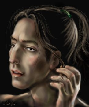 The new look for Snape by tafafa
