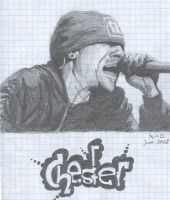 singing Chester by madebyDun