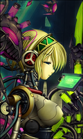 Battle Tag : Persona 4 Future robot Girl by NuclearAgent