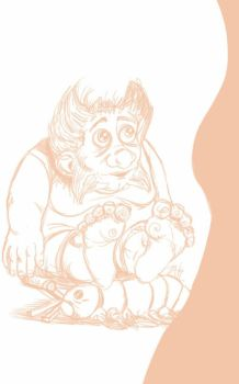 Daily Sketch: Dirty Little Man by Hunchy