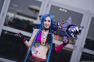 Best Jinx Cosplay Ever by Jessica MissHatred - LOL by LeonChiroCosplayArt
