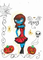 Feliz halloween by Minixis