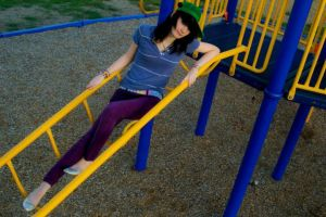 Cristy at the Playground by squishdragon