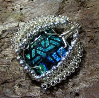 The Queens Wire Wrap Pendant by Create-A-Pendant