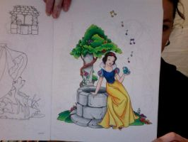 Disney Coloring Book 4 by Element-of-Air