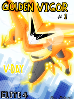 Pkpl: Victini - Comic cover by MTC-Studio