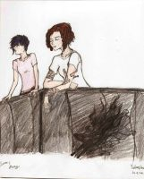 A quiet moment on the balcony by ladyburrfoot