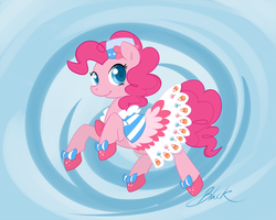 MLP - Pinkie Pie Gala Revisited by caycowa