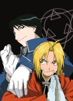Roy Mustang x Edward Elric by ToukaKoukan