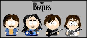 The Beatles South park by Danix54
