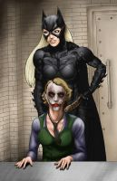 Batman-Joker, what's wrong? by Darthval