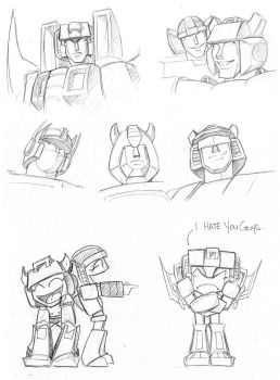 Sketchdump 1 by The-Starhorse