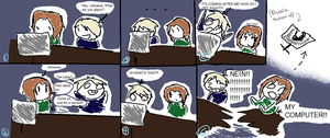 Prussia plays amnesia Pt 1 by OrangeWithATopHat