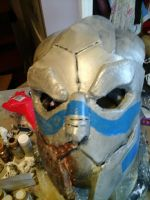 Garrus Vakarian WIP 50% completion by TaliBelle-Cosplay