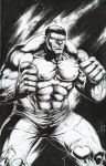 The incredible Hulk by ashkel