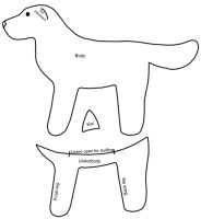 Free Simple Dog pattern by BookThief17