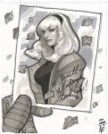 Gwen Stacy by AdamHughes