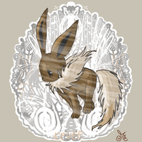Eevee Riddle by ChibiWendy