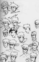 Face Doodles by DBZMSI