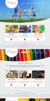 Zimballo Kindergarten Website Layout 01 by SebastianKlammer