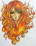 Flame by Jet-Black-Scars