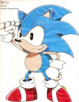 Classic Sonic: Sonic Generations by Aizenfree
