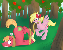 Cherry loves Apples - AT by CraZyGrEeNHyENa