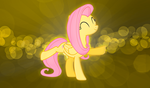 Fluttershy Wallpaper by alanfernandoflores01