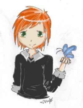 haha another chibi by S-h-a-t-t-e-r