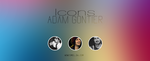 Adam Gontier - Icons by WowisMel