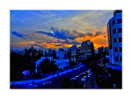Down Town Sunset -HDR- 1 by IoannisCleary