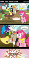 Pinkie joins the Dark Side by AleximusPrime