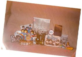 Beatles Toy Collage by BeatlesBoy26