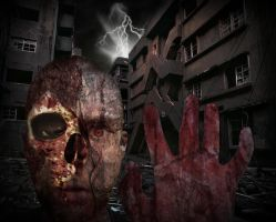 Zombie Render by drayh1985