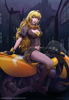 Yang Xiao Long by SeanDonnanArt