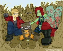 Guardians of the Galaxy- We are groot by Demonology7789