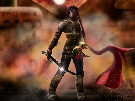 Prince of Persia- Sands of Time by AndreeaLupsaNL
