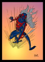Spider-Man 2099 by stayte-of-the-art