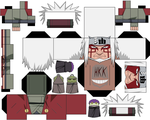 Jiraiya Sage Mode by hollowkingking