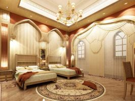 Islamic bed room by bent-masrya