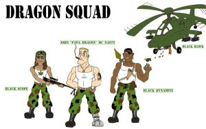 the Dragon Squad by Jwpepr