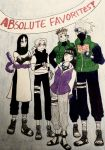 Favorite Naruto Characters with Crap Coloring! :D by Flutterflute