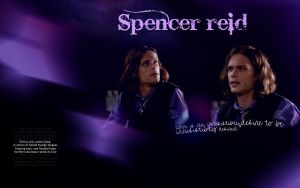 Dr Spencer Reid by Anthony258