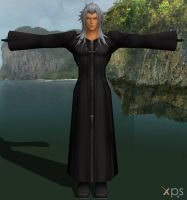 Xemnas for XNALara by LexaKiness