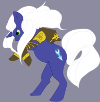 LoL - Ashe Pony by Khalia1114