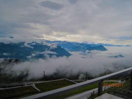 Cloudy Alps by avril72381