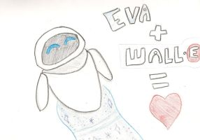 Eva+Walle by Uxie77