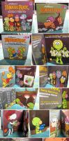 taco bell fraggle rock books by katiecandraw